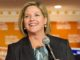 NDP Leader Andrea Horwath hasn't ruled out a coalition with Kathleen Wynne.