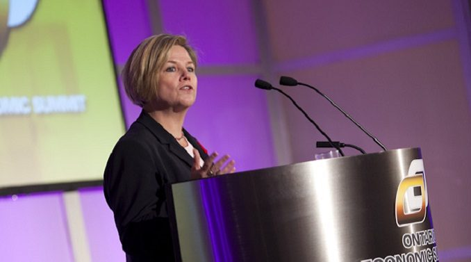 Andrea Horwath wants to offer santuary and healthcare to anyone that comes to Ontario.