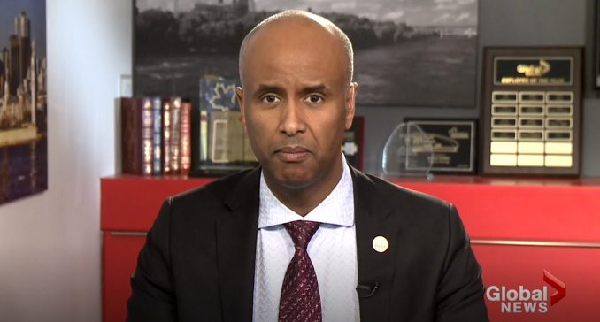 Immigration Minister Ahmed Hussen told a lie and a truth in a TV interview about illegal immigration.