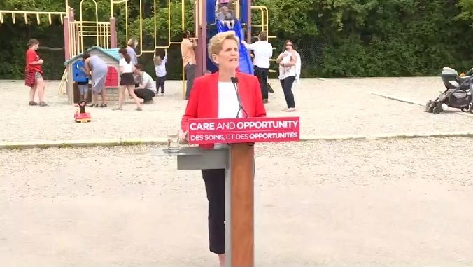 Kathleen Wynne has conceded that her party cannot win the Ontario election.